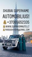 SUPERKAME VISŲ MARKIŲ AUTOMOBILIUS!!!